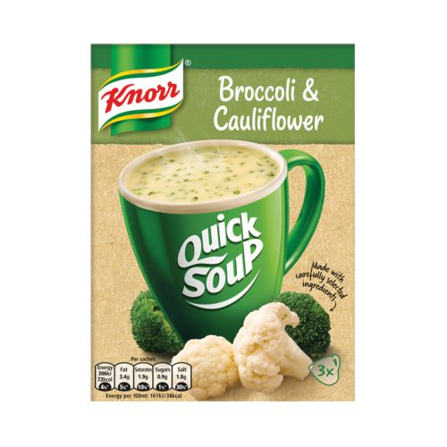 Knorr Broccoli & Cauliflower Quick Soup