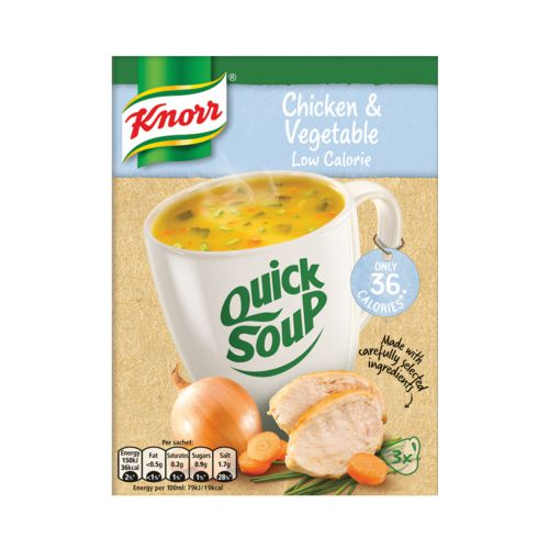 Knorr Low Calorie Chicken & Vegetable Quick Soup