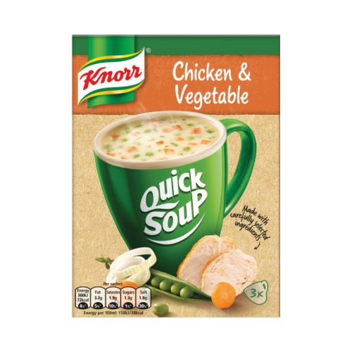 Knorr Chicken & Vegetable Quick Soup