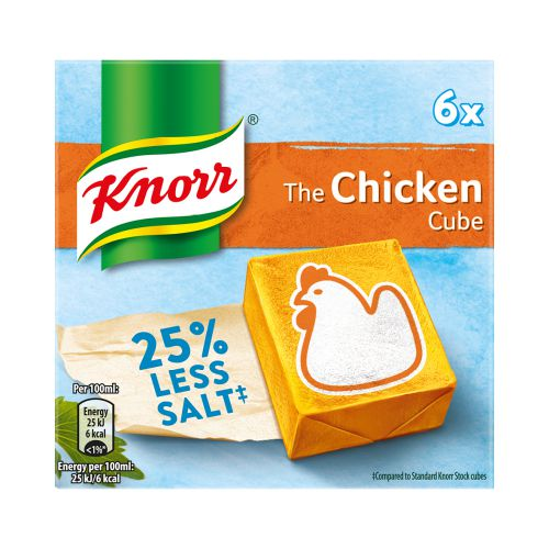 Knorr Low Salt Chicken Cubes