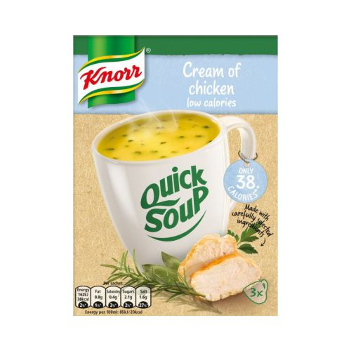 Knorr Low Calorie Cream of Chicken Quick Soup