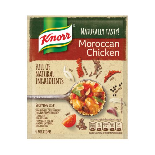 Knorr Naturally Tasty Moroccan Chicken