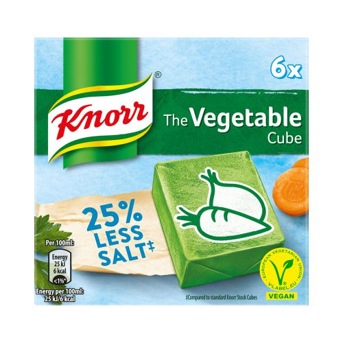 Knorr Low Salt Vegetable Cubes